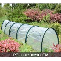 Cheap PE Five Door In The Side Pop Up Greenhouse Tent Grow Tunnel For Plants And Flowers 13 KGS Each in an oxford for sale