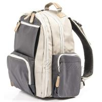 China Waterproof Coated Canvas Baby Bag mother baby diaper bag on sale
