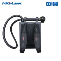 Cheap Buy Backpack Fiber Laser Cleaning Machine 100W 150W To Remove Stain for sale