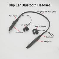 Cheap Clip Ear Bluetooth Headset with HD Sound quality Bone Transducer Headphones for sale