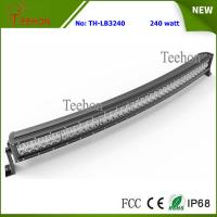 Cheap 17600lm 240W Epistar Curved Dual Row 4X4 LED Light Bar for Dodge, Ford and Chevy Trucks for sale