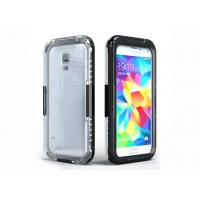 Cheap Samsung Galaxy S3 S4 S5 Waterproof Cell Phone Case of PC + Silicone for sale