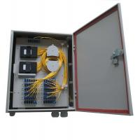 Cheap Fiber Optic Outdoor Ftth Termination Box Installed With 1*32 / 1*64 PLC ABS Packing Splitter for sale