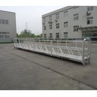 Cheap Building Cleaning Suspended Working Platform Zlp800 With 800kg Rated Load for sale