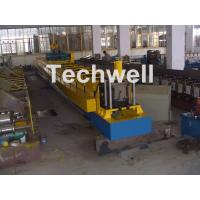Cheap Chain Transmission Top Hat Profile Cold Roll Former Machine With 15 Roll Stations for sale