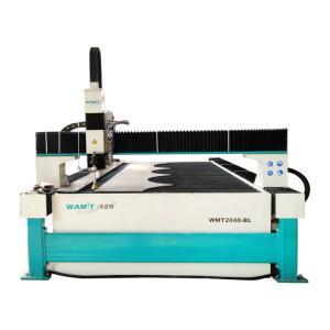 China WMT2040-AL 4000*2000mm bridge type water jet cutting machine with 420Mpa intensifier pump on sale