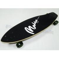 China Black Cool China Maple Wood Skateboards for Kids / Children Skateboarding Decks on sale