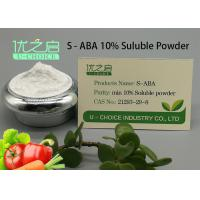 Cheap Power Plant Growth Regulator , Plant Growth Inhibitors S - ABA CAS NO 21293-29-8 for sale
