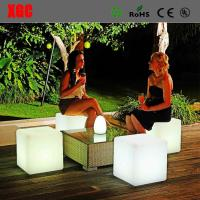 Buy cheap Plastic Material And Bar Table Specific Use Led Cube Stool Light Stool from wholesalers