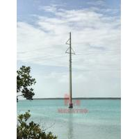 Buy cheap 345KV single circuit tower from wholesalers