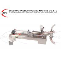 China Semi Automatic Liquid Bottle Filling Machine 200-1500Ml For Cosmetic Shampoo on sale