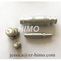Cheap factory provide self-locking lemo S series high quality coaxial connector FFA male plug for survey probe for sale