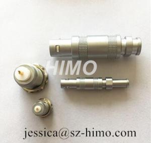 Cheap wholesale self-locking lemo 0S series coaxial connector FFA ERA male plug for survey probe for sale