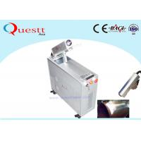 China Fast Rust Remover Machine 100W Laser Cleaning Paint / Coating / Wood / Stone on sale