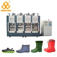 Cheap 2/4/6 Stations Plastic Shoes Making Machine For EVA Slipper Sandals / Foam Molding Type with 300-400 pairs/ hour for sale