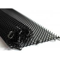 Quality Metal Coil Type Decorative Wire Mesh, Aluminum Coil Wire Fabric For Room Drapery wholesale