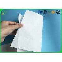 Environmental Friendly 30gsm 35gsm 40gsm White Kraft MG Paper For Making Food Packaging