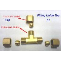 Cheap 1/4Tube Compression brass for sale