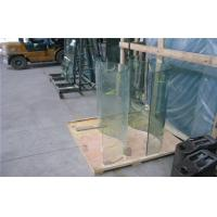 Cheap Heat Insulated Clear Curved Tempered Glass For Shower Enclosure for sale