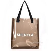 Quality Women ' S Clear Shoulder Tote Bag Transparent Pvc Shopping Bags For Travel & Gym wholesale
