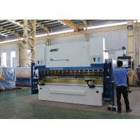 China Graphic Color CNC Press Brake Machine 300 Ton With Adjustable Clampings on sale