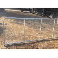 Cheap 10 FT Length Commercial Chain Link Fence / Heavy Duty Chain Link Fencing for sale