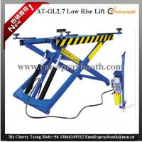 Cheap AT-GL2.7 Thin Structure Hydraulic Car Lift , Automotive Scissor Lift For Tyre Repair for sale