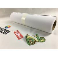 Cheap Sticky Soft Printable Heat Transfer Vinyl Sheets , Printable Heat Transfer Material for sale