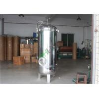 Cheap Mirror Gloss Stainless Steel Cartridge Filter Housing RO System Purification for sale