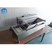 Double Row Automatic Donut Making Machine , Electric Deep Fryer Machine