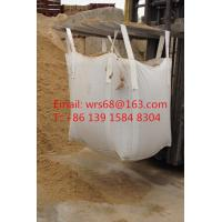Cheap 1 Ton Bulk bags super sack bags PP woven bulk bags for Building / Construcation for sale