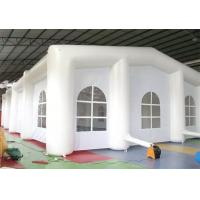 Cheap 0.9 MM PVC Tarpaulin Airtight Tent ,  Inflatable Tent For Event and Show for sale