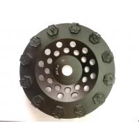Cheap Split PCD Diamond Cup Grinding Wheel For Concrete Floor Coatings Removing for sale