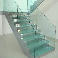 Cheap Tempered Glass Stairs for sale