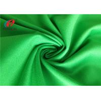 Waterproof Green Polyester Brushed Tricot Fabric Lining Fabric For Garment
