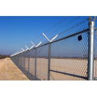 Cheap 358 High Security Anti Climb Fence , Pvc Coated No Climb Fence Panels 76.2x12.7mm for sale