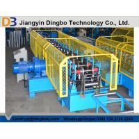 Touch Screen PLC Control Cable Tray Roll Forming Machine With Servo Guiding Device