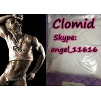 Cheap 99% Purity Clomiphene Citrate Anti Estrogen Steroids Clomid White Crystalline Powder for sale