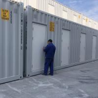 China 40ft 20ft Living Prefab Shipping Container Homes / Prefabricated Container House on sale