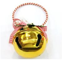 Cheap Wholesale christmas tree decoration golden big bell for sale