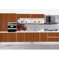 Modular french style melamine mdf kitchen cabient of for Building kitchen cabinets with mdf
