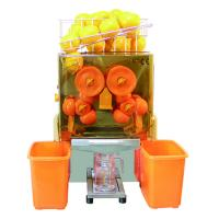 China Commercial Juice Extractor Machine Auto Feed Orange Squeezer Compact Design on sale