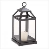 Cheap candle lantern with glass for sale