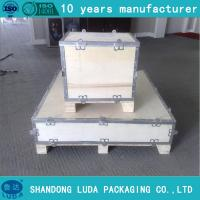 4 Hinges Wood Pallet Collar For Warehouse And