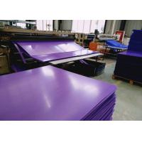 High Density Rigid Durable Fluted Plastic Sheet With Customized Size and Color
