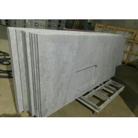 Cheap Carrara White Marble Stone Kitchen Countertops Sink Hole For Construction for sale