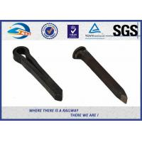 Cheap Black Oxide Dog Railroad Track Spikes / Boat Spike without crack for sale