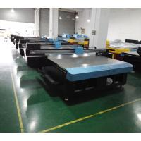 Buy cheap CMYK + W Flatbed UV Direct Printing Inkjet Printing Equipments Max 100MM Print Height from wholesalers