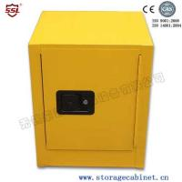 Cheap Stainless Steel Iron Coated Flammable Yellow Powder  Chemical Storage Cabinets For Laboratory  /  Bench Top for sale