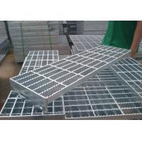 China Durable Q235 Outdoor Galvanized Steel Stair Treads High Strength Material on sale